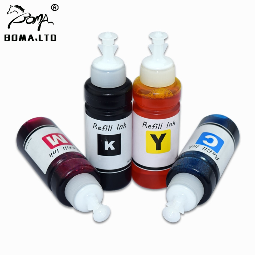 4 PC/Lot High Quality Bulk Printer Dye Ink For EPSON XP420 XP424 XP320 WF2630/WF2540/WF2520/WF2530 Printer Ink Cartridge