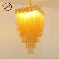 Modern European iron gold Chandeliers G9 plated luster Chandelier LED 220V Lighting for living room kitchen bedroom hotel study