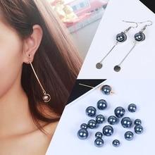 20/30/40 pièces perles rondes Imitation perle perle Bracelet à bricoler soi-même boucle doreille faisant des résultats bijoux accessoires 8/10/12mm en gros