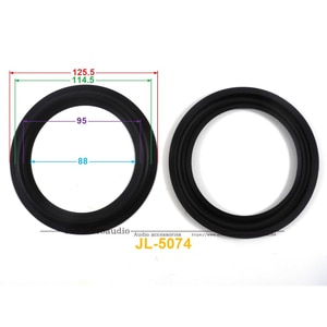 New 10 pcs /lot = 5 Pair 5inch Woofer Repairable Parts / Speaker Rubber Surround 113A ( 125.5mm / 114.5mm / 94mm / 87.5mm )