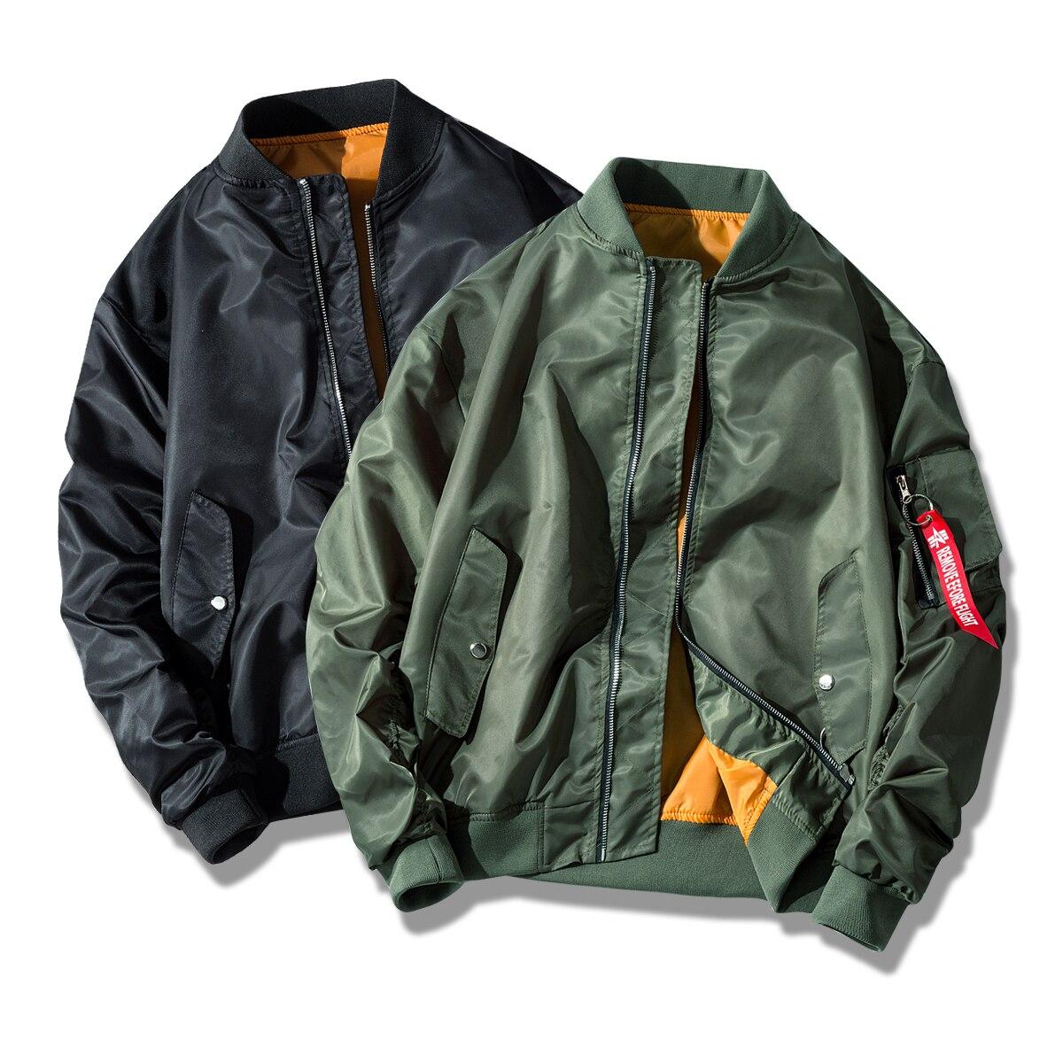 2019 Men Clothing US Air Force Pilot Ma1 Bomber Flight Jacket Waterproof  Mens Women coat Army Military Motorcycle Race Coats