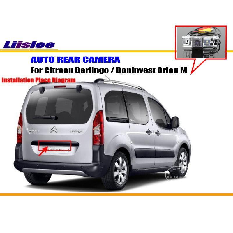 Auto Rückansicht Kamera Für Citroen Berlingo/Doninvest Orion M/Reverse Kamera/NTST PAL/Lizenz Platte licht Kamera