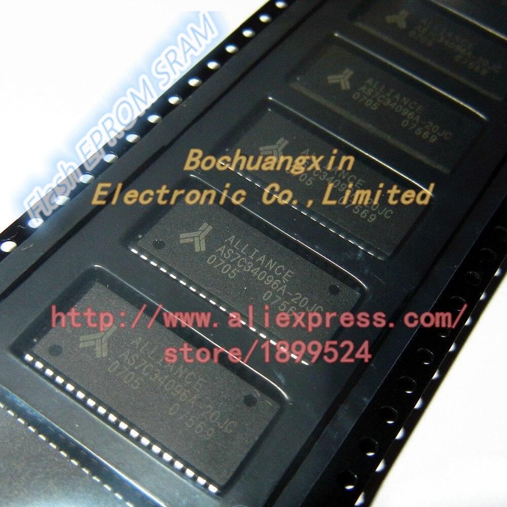 Frete Grátis X8 AS7C34096-20JC AS7C34096 20JC SOJ36 3.3 V 512 K CMOS SRAM