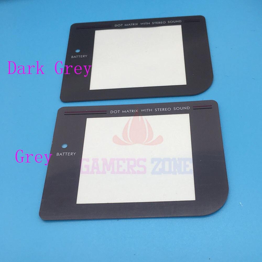 50pcs DMG-01 Play It Loud  Dark Grey Replacement Screen Lens Pretector for Nintendo Gameboy Original System