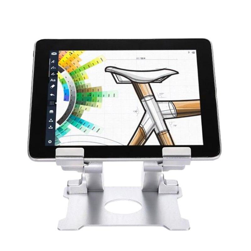 Новый алюминиевый держатель для планшета складной настольный держатель Подставка для iPad Surface Pro hot