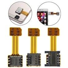 Universal TF Hybrid Sim Slot Dual SIM Karte Adapter Micro SD Extender Nano Cato Android Telefon Für Xiaomi