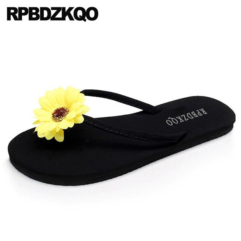 5 suede summer ladies sandals flip flop women designer 2019 shoes beach flower slides most popular products slippers chinese