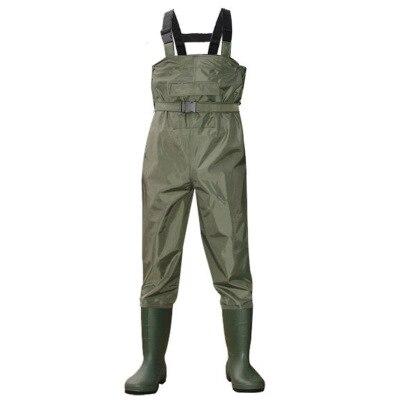 2018 уличная рыбалка кемпинг сельское хозяйство воздухопроницаемые комбинезоны Мужская одежда ремень комбинезоны мужские водонепроницаемые болотные брюки с ботинками