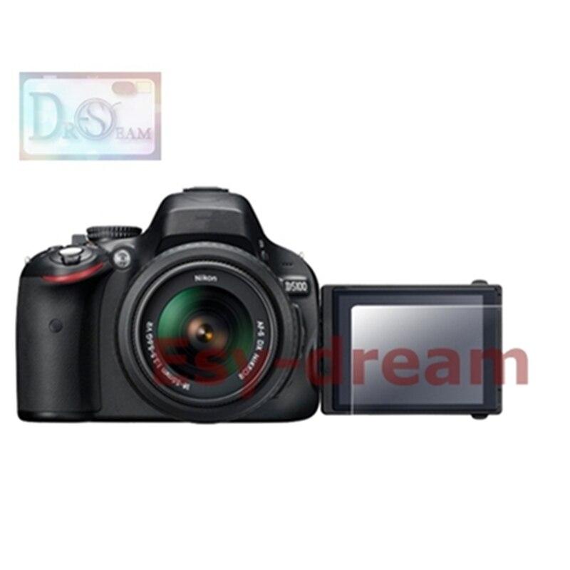 Vidrio Templado autoadhesivo/funda protectora de pantalla LCD para cámara Nikon D5100 D5200