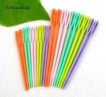 "DoreenBeads Multicolor Plastic Sewing Needles DIY Crafts Accessories 2 3/4"" , 3 3/4"", 20Pcs"