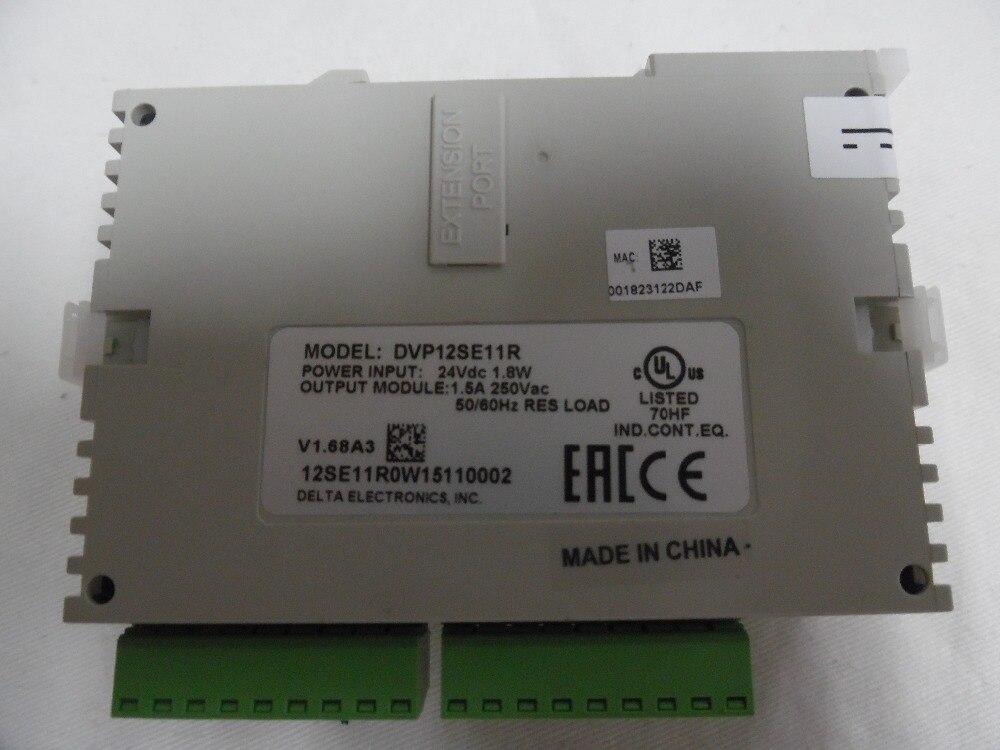 Delta SE-adaptateur DC 8DI 4DO   Série PLC, nouveau (relais) 3 COM (Mini USB/RS485x2/Ethernet)