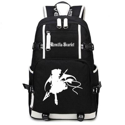 Новое поступление, Студенческая сумка для ноутбука, проект Touhou Kirisame Marisa, рюкзак для косплея