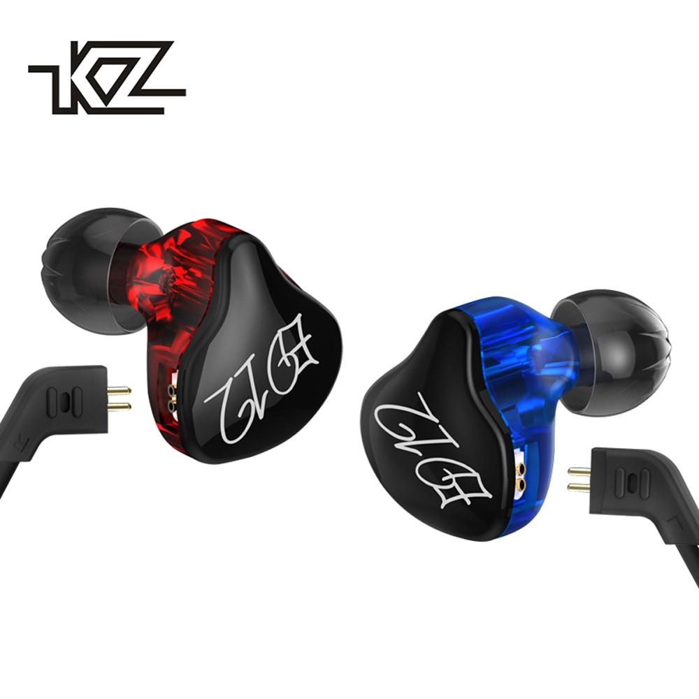 KZ ED12-auriculares, de alta fidelidad, auriculares estéreo deportivos con cancelación de ruido y Monito para deporte