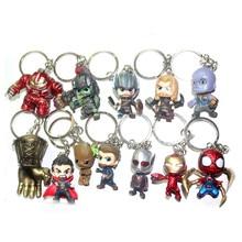 Univers Avengers qualité édition Captain America Steel Spiderman MK33 anti-hulk main bureau porte-clé boucle suspendue