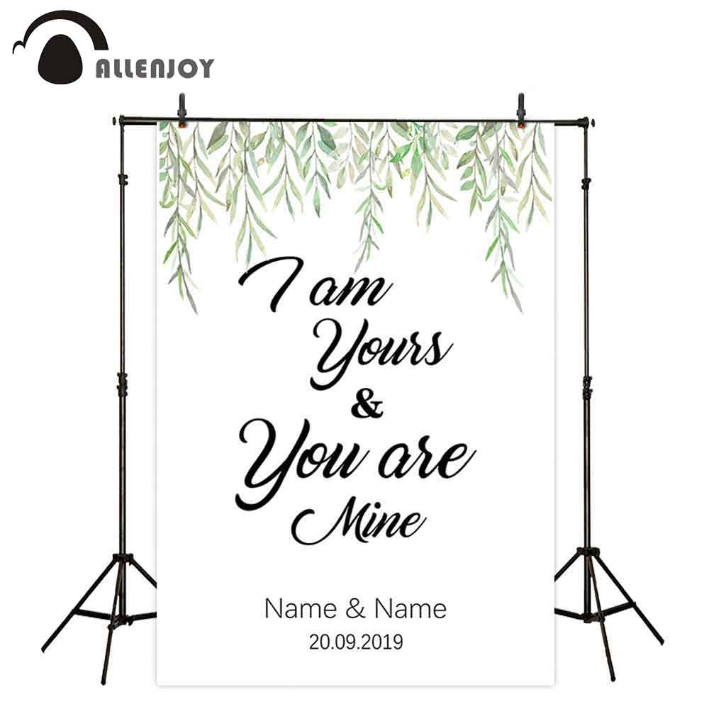 Allenjoy foto handys photozone willow sommer weiß custom hochzeit elegante außen photobox fond photographie photocall boda