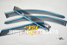 For Mazda CX-5 CX5 2012 2013 2014 2015 2016 Window Wind Deflector Visor Rain/Sun Guard Vent new