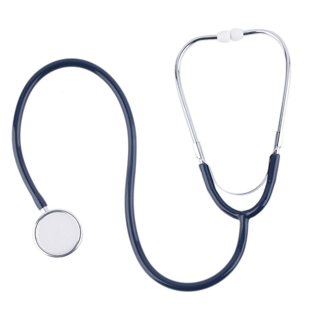Estetoscopio EMT de doble cabeza para médico enfermera Dispositivo de auscultación portátil para estudiantes médicos monitores de salud duraderos herramienta de salud