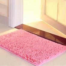 Tapis de bain antidérapant   Gros tapis de salle de bain tapis de salle de bain pour toilettes tapis de baignoire, tapis de baignoire absorbant doux, Chenille