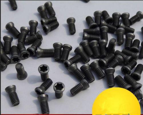 10 Uds M2.5 x 7mm insertar tornillo Torx para insertos de carburo de herramienta de torno para 11ER /11IR
