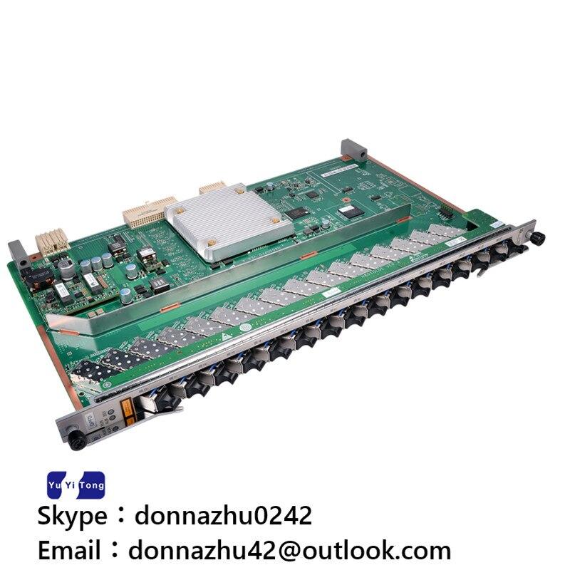 Original MA5680t OLT 16 ports GPON board GPFD 16 SFP C++ modules second hand