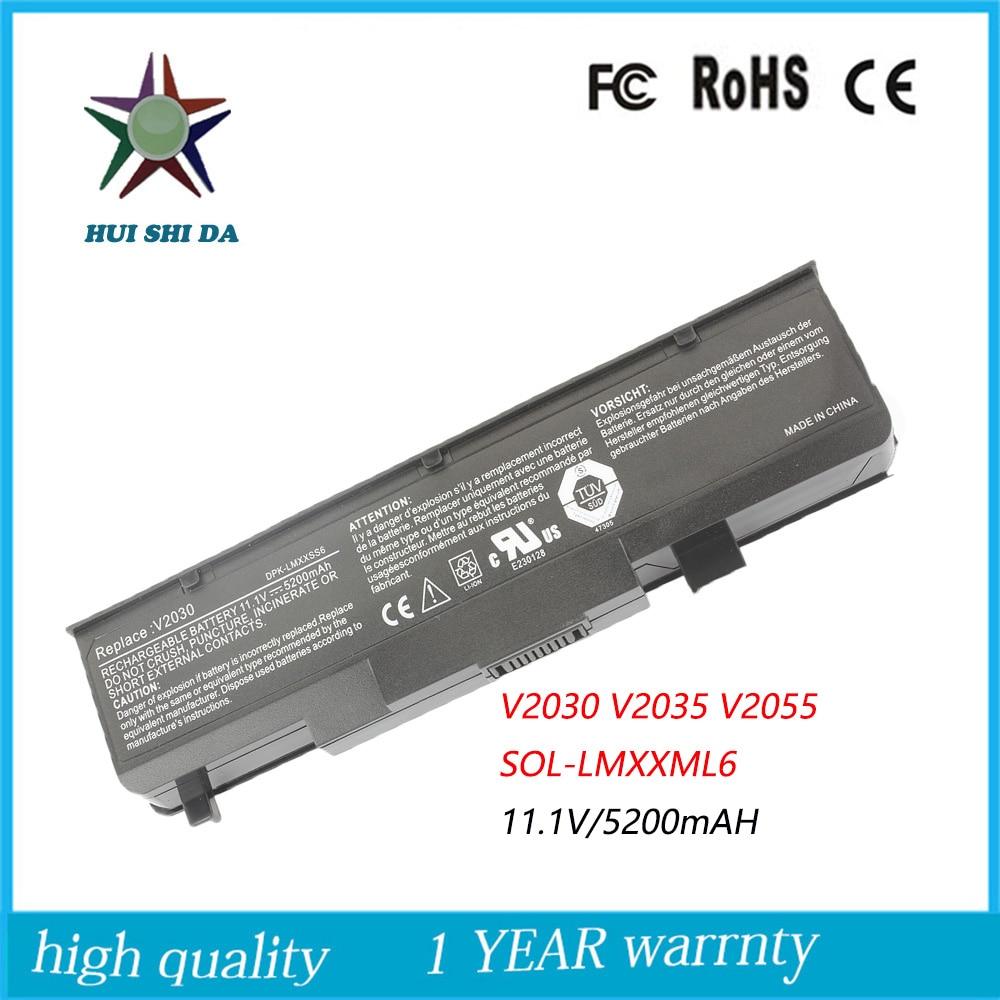 11.1 v 5200 mah de alta capacidad de calidad nueva batería del ordenador portátil para fujitsu amilo pro v2030 v2035 v2055