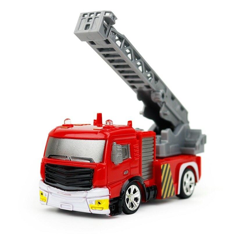 Пожарная машина с дистанционным управлением, 1:58, радиоуправляемая машина, пожарная машина