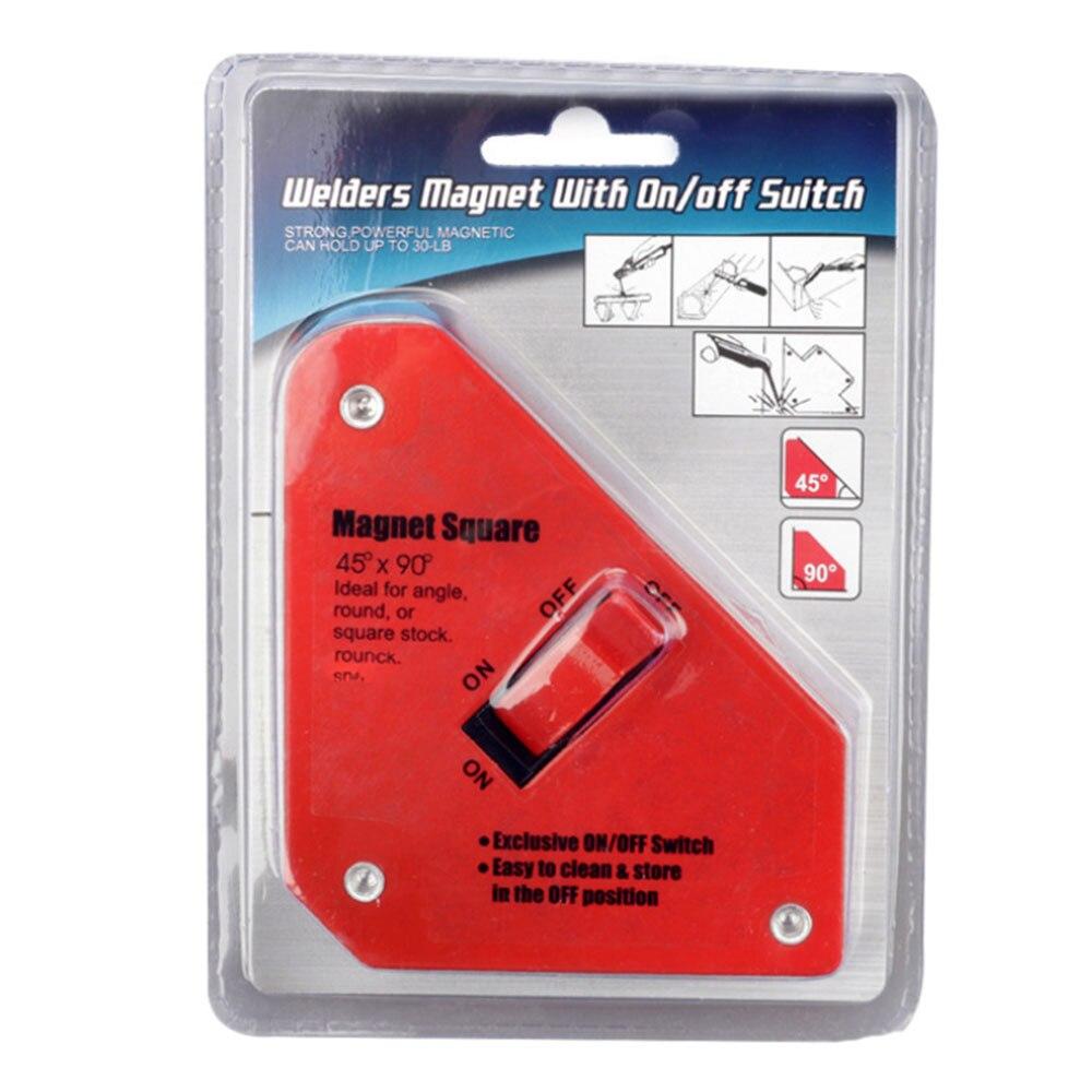 Nuevo Producto, interruptor magnético fuerte, imán de soldadura, interruptor de encendido/apagado, sujeción fija, posicionador auxiliar para herramienta de soldadura