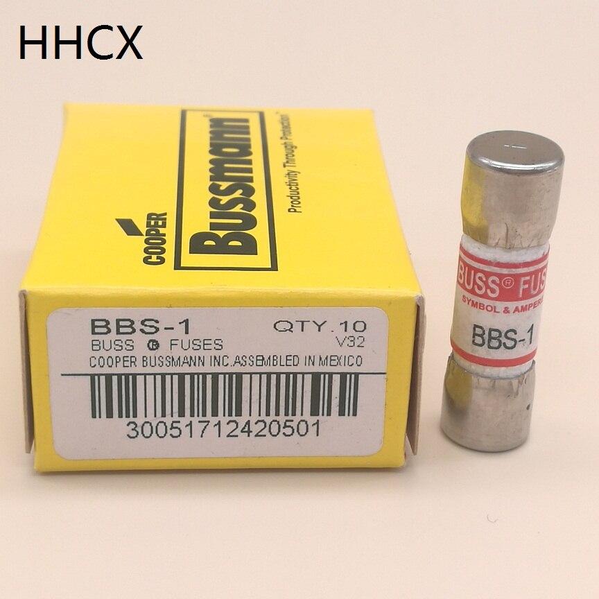 1PCS BUSS Fuse FAST-ACTING Ceramic fuse BBS-1 BBS-2 BBS-3 BBS-5 600VAC 1A 2A 3A 5A 10*35MM