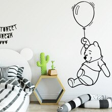 Cartoon Animals  Wallpaper For Room Bear Wall Sticker For Kids Rooms Decor Wall Decal Bear Stickers muursticker