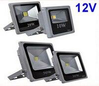 12V 10W 20W 30W 50W Refletor Foco Exterior Outdoor LED Flood Light Lamp Waterproof Garden Lawn Square Lighting Tuinverlichting