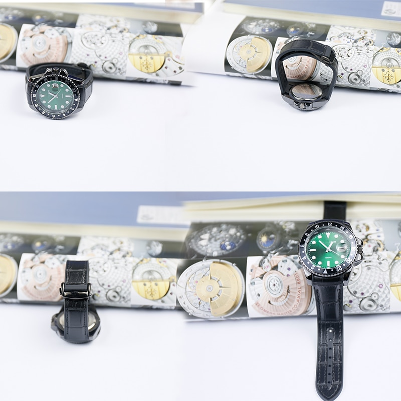 Купить с кэшбэком 20mm22mmMen's Rubber Strap Watch Accessories Pin Buckle For Omega Seamaster Planet Ocean Leather Strap Women's Sports watch band