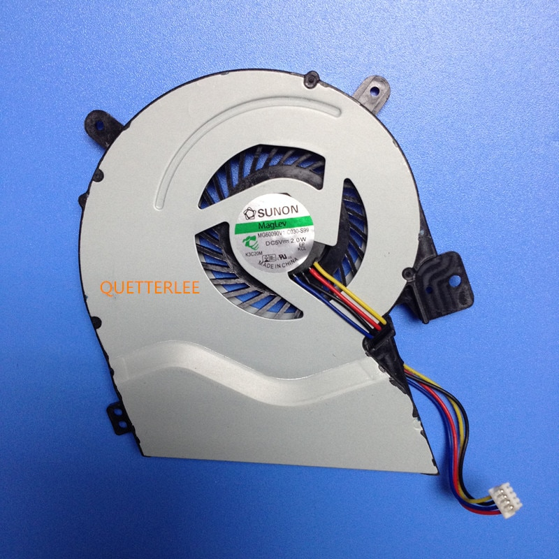 Замена ноутбуков, вентилятор охлаждения процессора, подходит для ASUS X451ca X551CA x451 x551 X551MA, кулер для ноутбуков