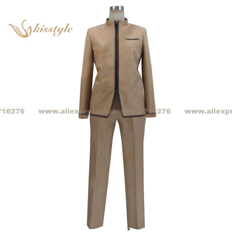 Moda kisstyle Fate Zero Fate stay night Shiro Emiya uniforme Cosplay disfraz, personalizado aceptado