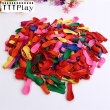 Ballon gonflable classique 500 pièces/lot   Ballon de décoration pour fête danniversaire pour enfants, bombes à eau, ballon coloré, petits ballons gonflables