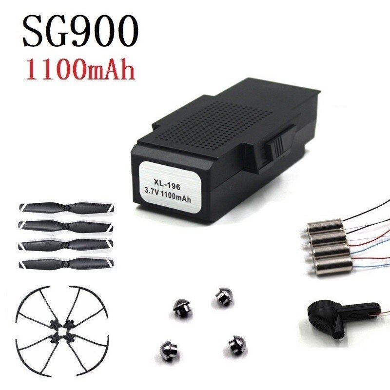 Original Battery For SG900 F196 X196 X192 3.7V 1100mAh Lipo Battery RC Helicopter Drone Quadcopter S
