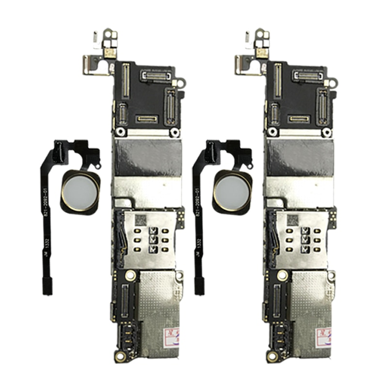 LIMZ  Origina For iPhone SE Original Motherboard Unlocked Mainboard With Chips  Touch ID With Touch IOS Update Support