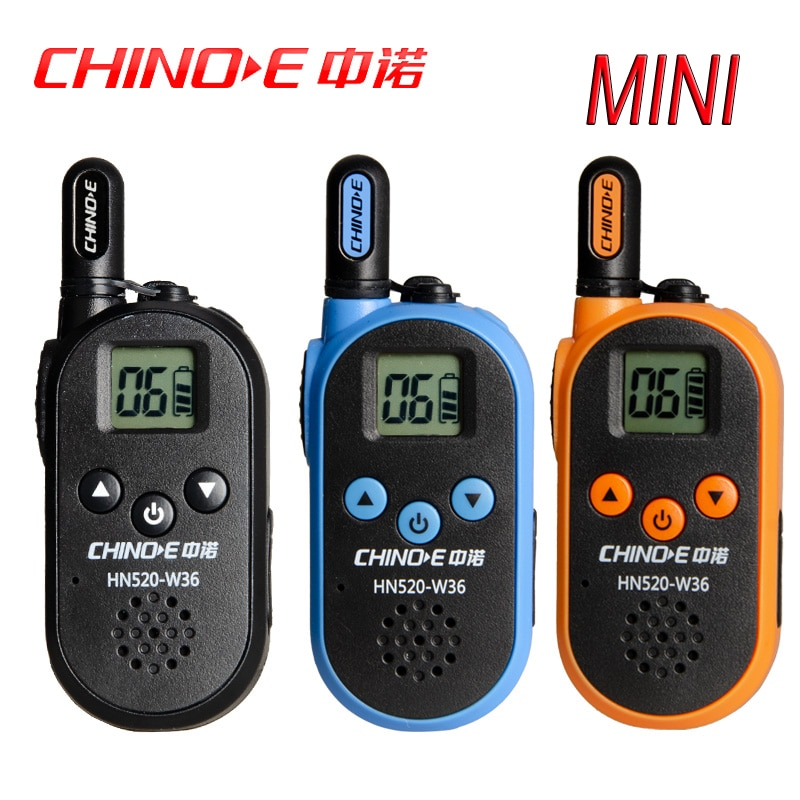 ZHONG NUO HN520-W36 Civil VOX control de sonido de alta potencia intercomunicador de mano al aire libre Mini transmisor HF