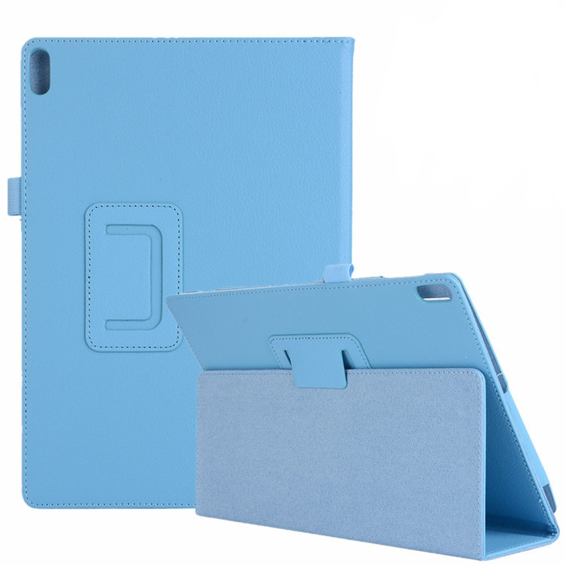 For Lenovo Tab M10 Case TB-X605F Tablet Litchi PU Leather Stand Case for Funda Capa Lenovo Tab M10 10.1 Auto Awake Cover Case