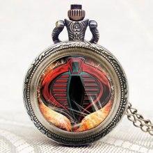 Cadeau armée Force spéciale/Delta Force/Cobra/maréchal chaîne hommes collier montre de poche pendentif moderne mode états-unis