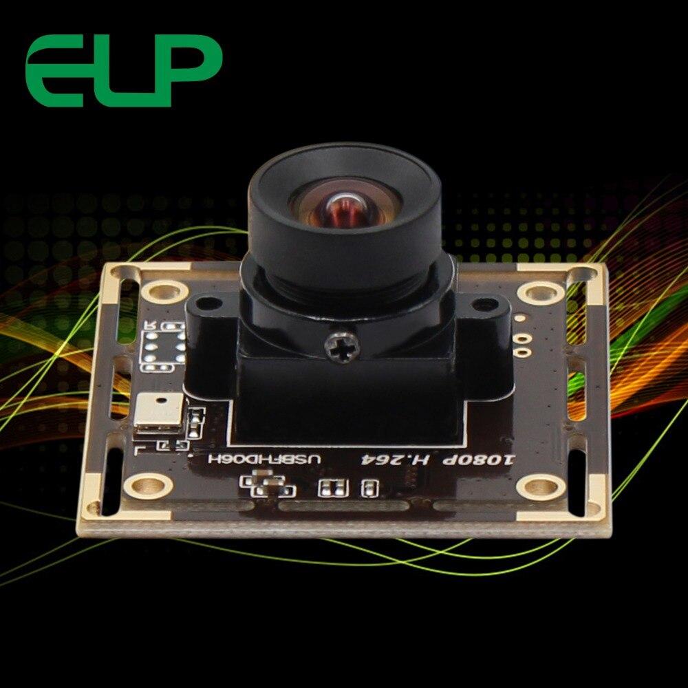 Keine Verzerrung 2MP USB Webcam kamera modul Sony IMX322 H.264/MJPEG/YUYV Niedrigen Licht 0.01Lux CCTV Kamera Bord 1080 P
