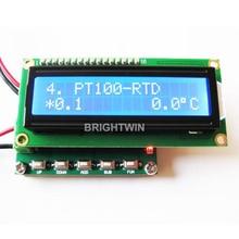 CU50 PT100 calibrador de RTD para RTD calibración resistencia ciclo de trabajo PWM generador de señal de frecuencia PT100 módulo simulador