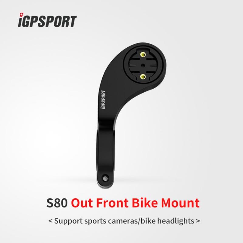 IGPSPORT S80 frente bicicleta montaje para iGPSPORT iGS10 iGS20 iGS130 iGS50EiGS8 garmin...