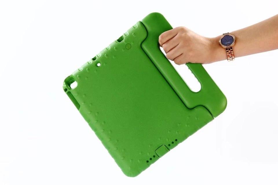 EVA Case For Apple iPad5/6 2017 2018 9.7 Air1/2 A1822 A1823 Kids Children Safe Rugged Proof Foam Handle Stand Foam Cover+pen
