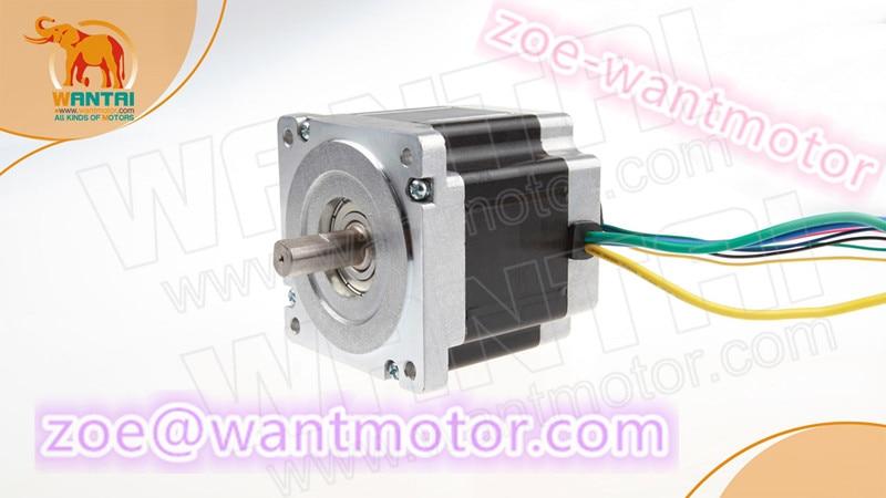 Cheap price brushless motor!1PC wantai Nema34 brushless motor 86BLF03 3000PRM 48V 330W 9.6A for cnc kit ISO ROHS CE