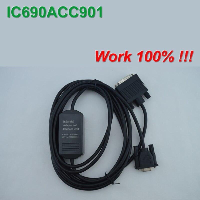 IC690ACC901: RS232/Adaptador SNP para PLC de la serie GE FANUC 90