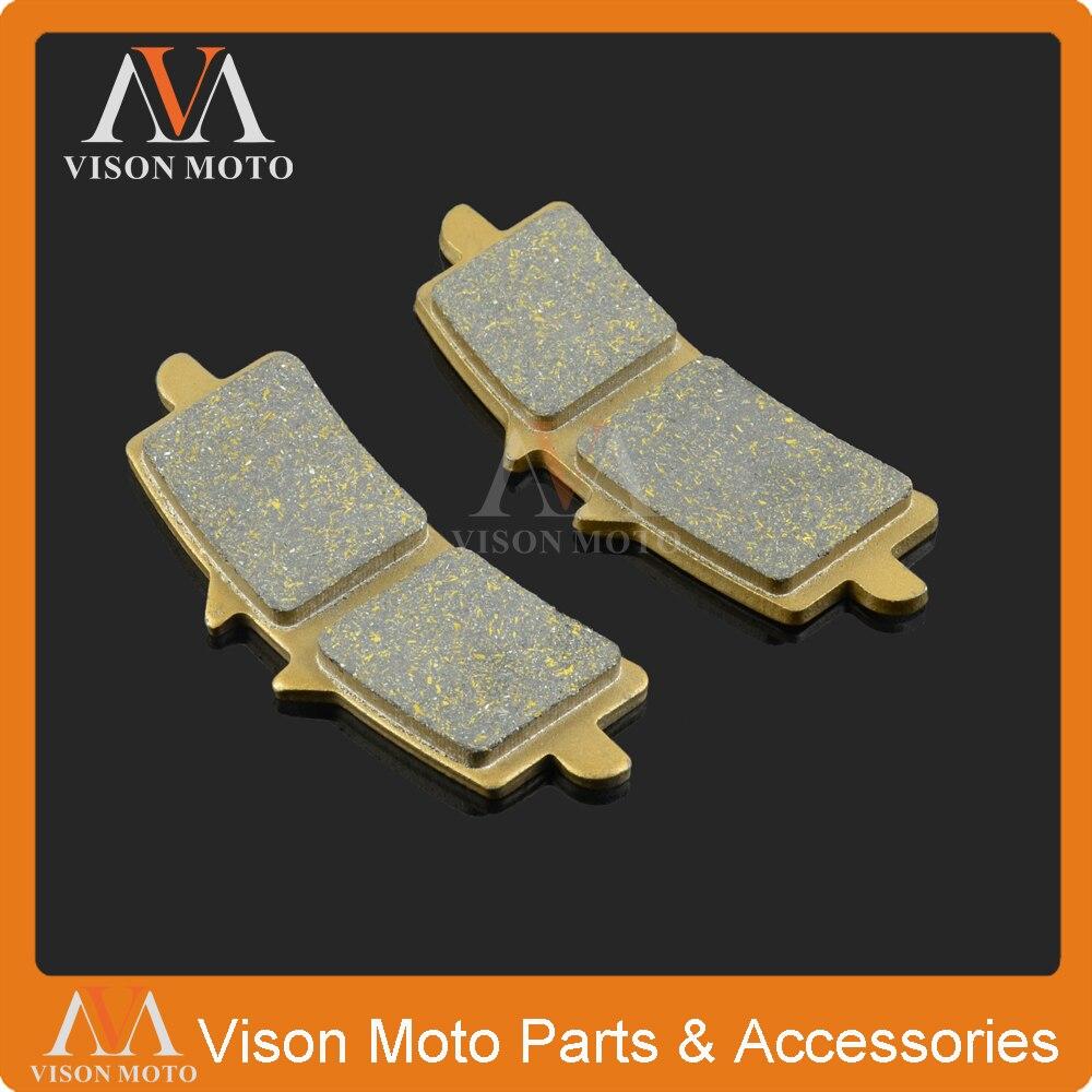 Pastillas de freno de pinza delantera de la motocicleta para DUCATI 1200 MONSTER S 1200S MULISTRADA 1299 PANIGALE R S S2015