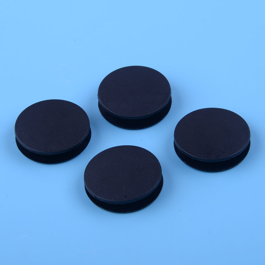 DWCX 4Pcs Accessories Car Mat Grips Carpet Floor Fixing Clips Clamps Cap 3.6 cm Black Plastic Fit for MERCEDES-BENZ BQ6680520