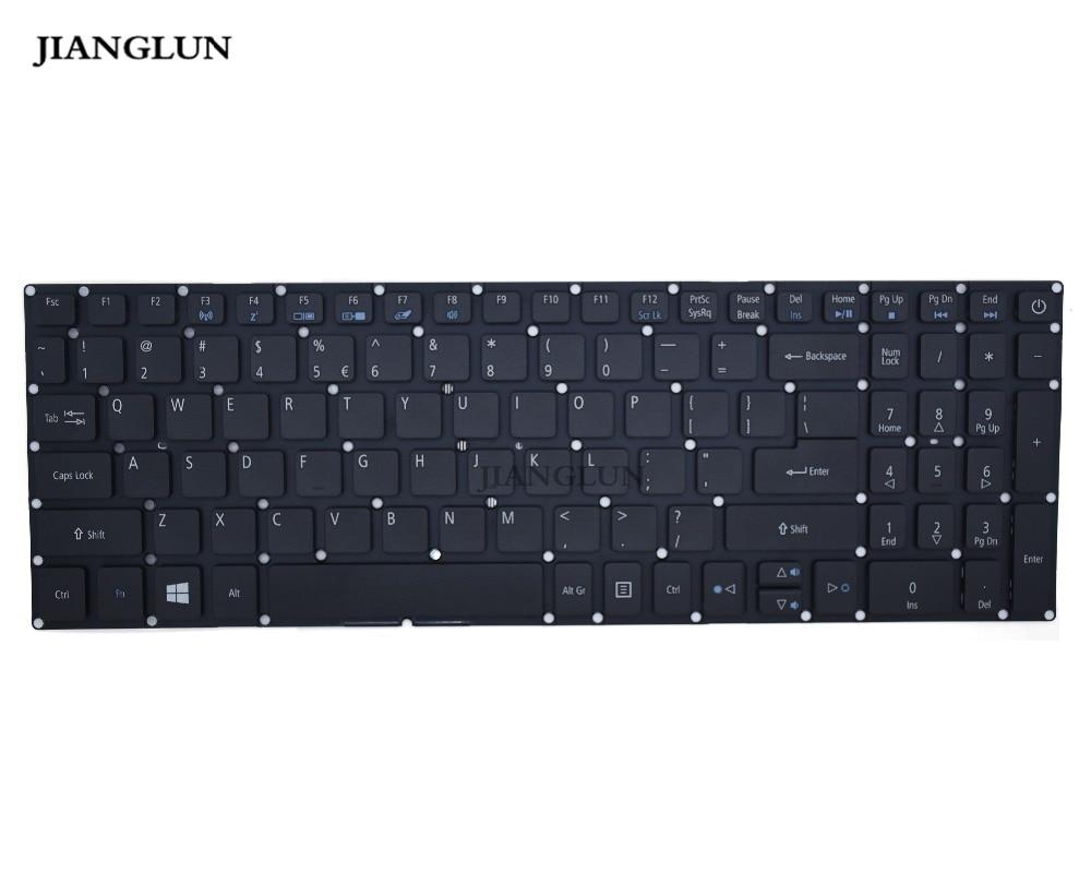 Yang lun-لوحة مفاتيح كمبيوتر محمول ، تخطيط أمريكي ، لسلسلة Acer travel mate P258 ، موديل رقم N15Q1 ، أسود
