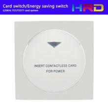 Speciale Ontwerp Ster Ketting Hotel Herberg Hilton Energy Saver Keycard 125 KHz Houder Insteekkaart Take Power Kamer Geen. en Tijd Grenzen
