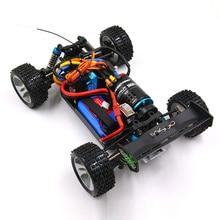 RC WLtoys 1/18 A959-B A969-B A979-B K929-B brushless upgrade 3650 sensored motor metal gear 120A ESC emax ES3004 servo
